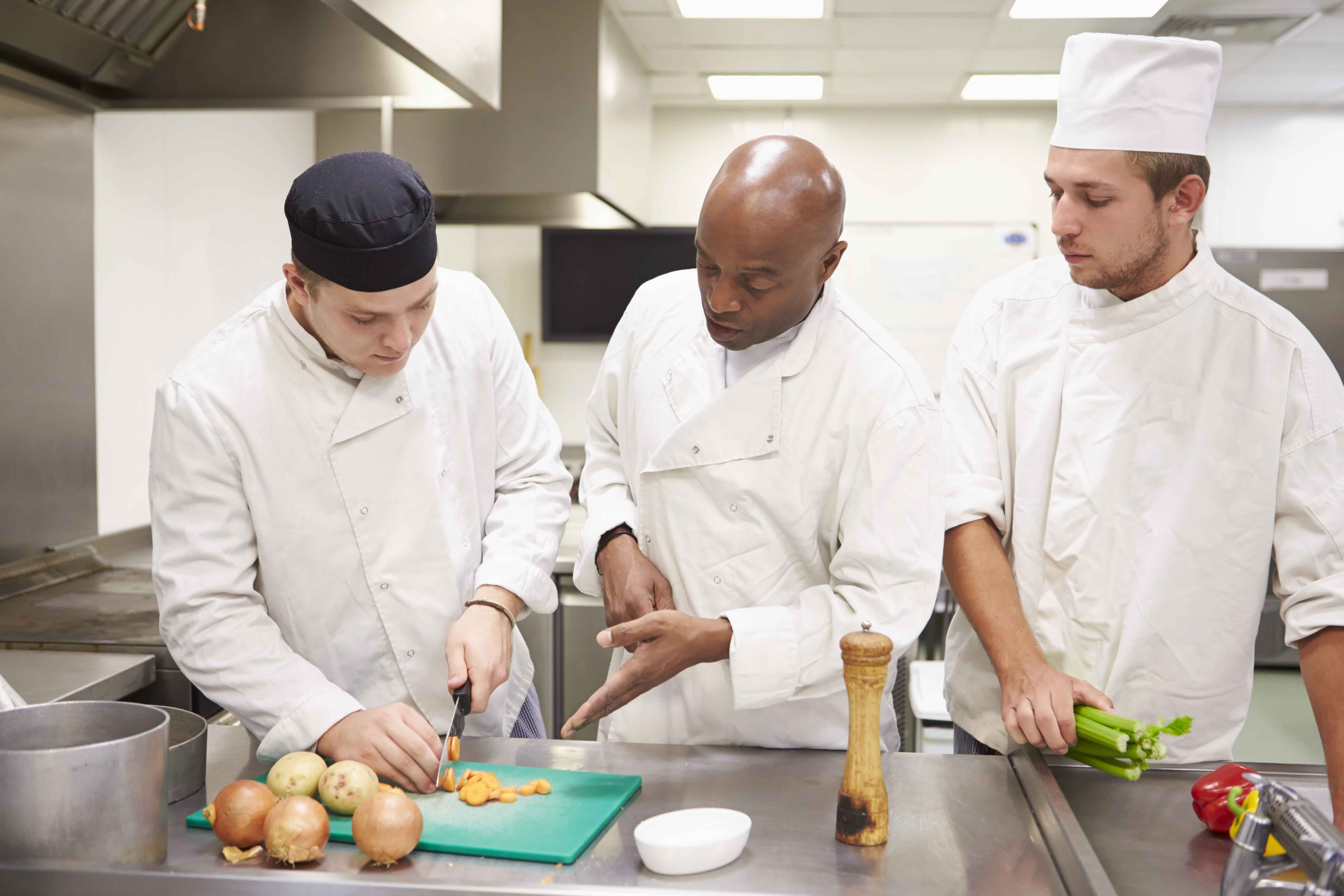 Ayudante de cocina en colectividades 170 horas normabasica for Mesa ayudante de cocina